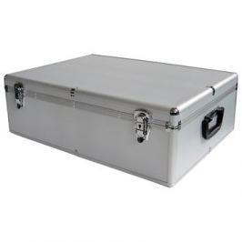 Mediarange DJ case kufr na 1000 disků sříbrný