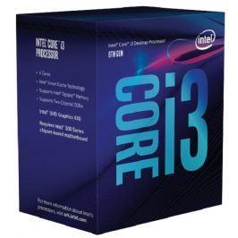 Intel cpu CORE i3-8100 1151 Coffee Lake BOX 65W (3.6GHz, 4x jádro, 4x vlákno, 6M