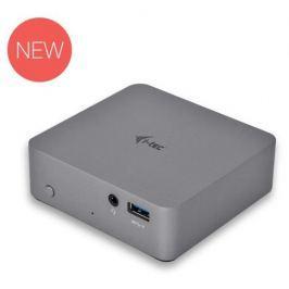 I-TEC USB-C 3.1 Metal 4K dockovací stanice