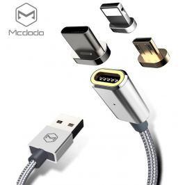 Mcdodo USB AM To L + M + T 3-In-1 Silver
