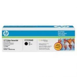 HP INC HP CC530AD Toner 304A pro CLJ CM2320, (2x3500str), Black