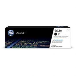 HP CF540X 203X High Yield Black Original LaserJet Toner Cartridge