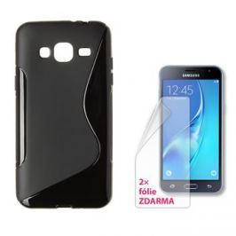 Connect IT S-COVER pro Samsung Galaxy J3/J3 Duos (2016, SM-J320F) ČERNÉ