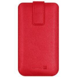 Connect IT U-COVER univerzální pouzdro na mobilní telefon, ČERVENÉ (velikost XL)