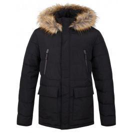 Loap Pánský zimní kabát  TEROK, S, Černá