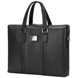 """SUMDEX Continent taška na notebook 15,6"""" CM-142 umělá kůže elegantní černá dámská"""