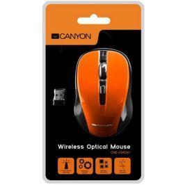 Canyon myš optická bezdrátová CMSW1, nastavitelné rozlišení 800/1000/1200 dpi, 4