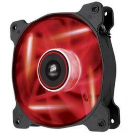 Corsair Air Series AF120 LED Red Quiet Edition, 120mm vent., 25dBA, Single pack