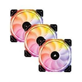 Corsair HD120 RGB LED High Performance Fan - Three Pack with Controller