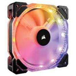 Corsair HD140 RGB LED ventilátor PWM - 140x25mm (1 ks v balení, řízené LEDky, be