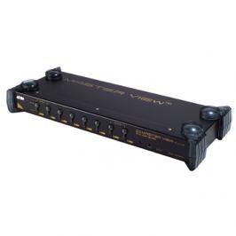 Aten CS9138 KVM Switch 8 ports, OSD, PS/2 Keyboard / Mouse, Audio, 1U Rack 19''
