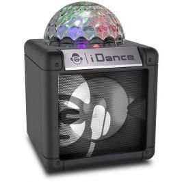 IDANCE CUBE NANO CN-2 BLACK/ BT repro/ 5W/ 1x Disco ball/ USB