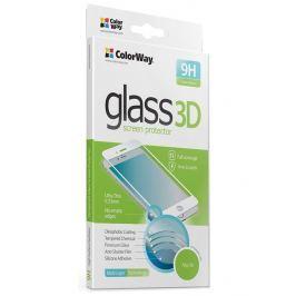 ColorWay ochranná skleněná folie pro Apple iPhone X/ 3DTvrzené sklo/ Plné pokryt