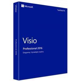 Microsoft Visio Pro 2016 Win Czech Medialess