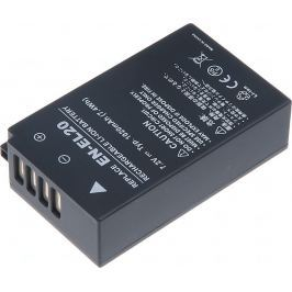 T6 POWER Baterie  Nikon EN-EL20, 1500mAh, černá