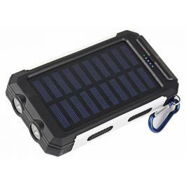 VIKING Solární Outdoorová Powerbanka Delta I 8000mAh, Černo-Bílá