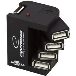 Esperanza EA126 Hub USB 2.0, 4 porty