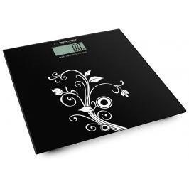 Esperanza SDA Esperanza EBS003 YOGA osobní digitální váha, černá s bílým vzorem