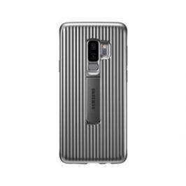 Samsung Tvrzený ochranný zadní kryt pro S9+ Silver