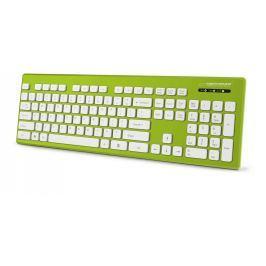 Esperanza EK130G SINGAPORE voděodolná klávesnice, EN layout, USB, zelená