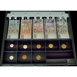 VIRTUOS Plastový pořadač na peníze pro C425, kovové držáky bankovek