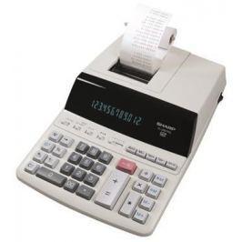 SHARP Kalkulačka s tiskem EL-2607PGGYSE, 12 místný displej, 2-barevný tisk,