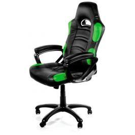 AROZZI herní židle ENZO/ černozelená