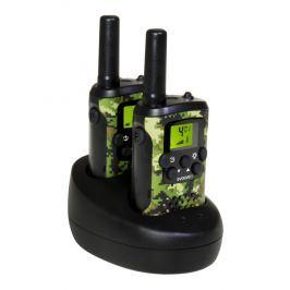 Evolveo FreeTalk XM2, sada 2 vysílaček s duální nabíjecí základnou, dosah až 8km