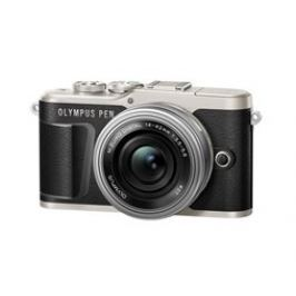 Olympus E-PL9 1442 Pancake Zoom Kit black/blk