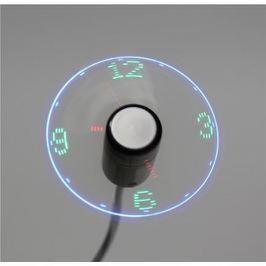 Platinet OMEGA USB ventilátor s hodinami