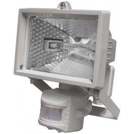 EMOS Lighting Halogenový reflektor 150W s PIR senzorem bílý