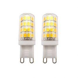 TESLA LED žárovka/ G9/ 3W/ 230V/ 300lm/ 4000K/ studená bílá (2pack)