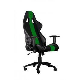 C-TECH Ostatní  herní křeslo PHOBOS, černo-zelené