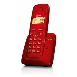 SIEMENS GIGASET Domácí telefon  A120 - červený