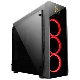 CHIEFTEC MidT Scorpion GL-01B-OP / ATX / LED display / 2x USB3.0 / 1x USB2.0 / b