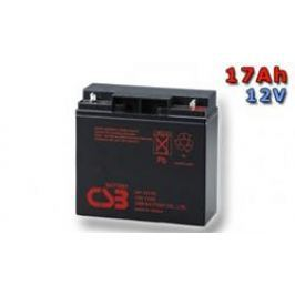 CSB BATTERY CSB Náhradni baterie 12V - 17Ah GP12170F2 - kompatibilní s RBC7/11/49/50/55