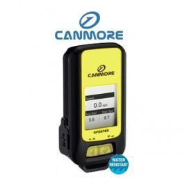 Canmore GPS  GP-102+ tracker (datalogger), IPX6, LCD, tlak/teplota/, gyro - žlutý