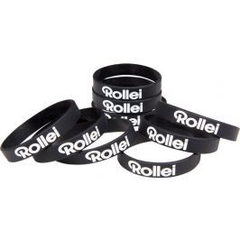 ROLLEI stylový gumový náramek na ruku/ 1ks v balení