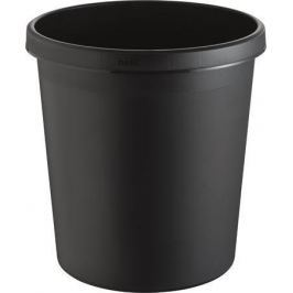 HELIT Odpadkový koš, černá, 18 litrů,