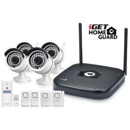 IGET HGNVK48904 - CCTV bezdrátový WiFi set HD 960p, 4CH NVR + 4x IP kamera 960p,