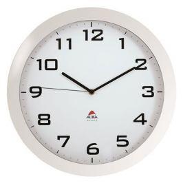 ALBA Nástěnné hodiny Horissimo, bílá, 38 cm,