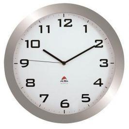 ALBA Nástěnné hodiny Horissimo, 38 cm, , stříbrné