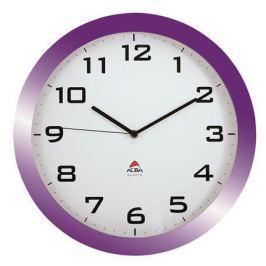 ALBA Nástěnné hodiny Horissimo, fialová, 38 cm,