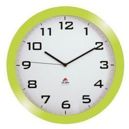 ALBA Nástěnné hodiny Horissimo, zelená, 38 cm,