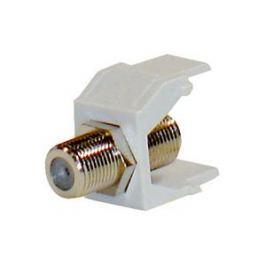 SCHRACK Keystone modul koaxiální, F - F spojka, 75 Ohmů