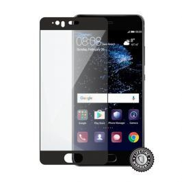 SCREENSHIELD HUAWEI P10 Tempered Glass protection (full COVER black)