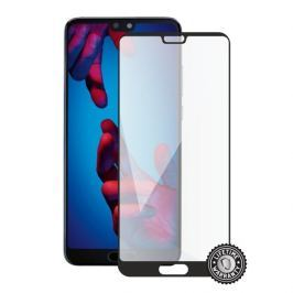 SCREENSHIELD HUAWEI P20 Tempered Glass protection (full COVER black)