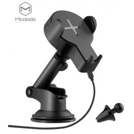 Mcdodo Single Coil Wireless Car Charger Holder Black