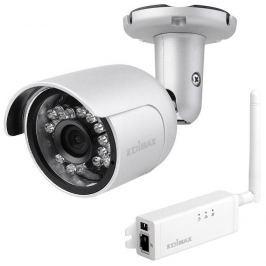 Edimax Monitoring Edimax 720p Outdoor Wireless H.264 IP Camera, IP66, SD card, mini, IR cut filter
