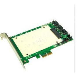 ST-LAB / SUNSWAY ST-LAB A-550 HyperDuo PCI-Express 1x SSD+3x SATA3 RAID (6Gps) - interní karta